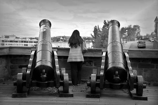 Wall Art - Photograph - Between Cannons by Valentino Visentini