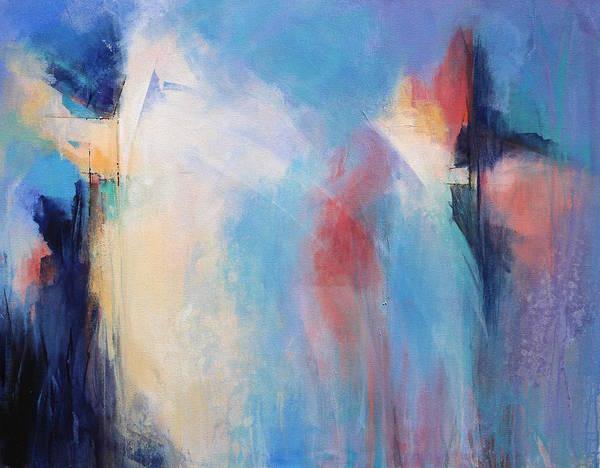 Wall Art - Painting - Between Dan And Night by Karen Hale