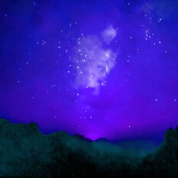 Religious Beliefs Mixed Media - Starry Night by Stacey Chiew