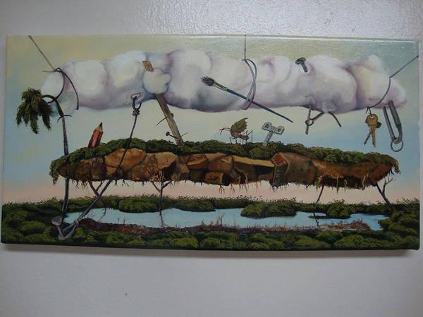 Between Heaven And Earth Art Print