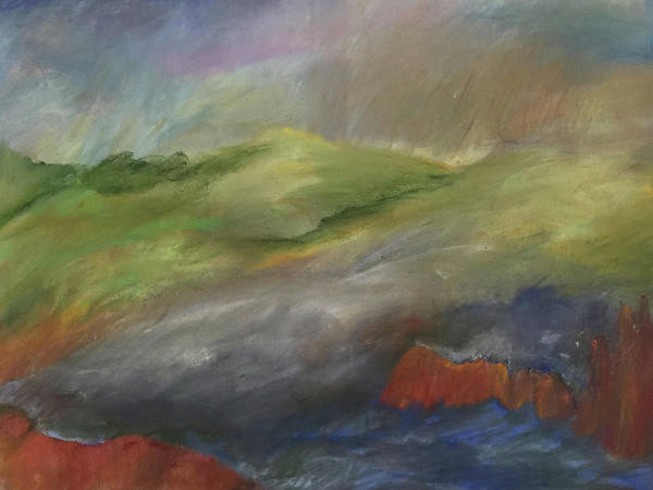 Pastel - Between Storms by Barbara Jacobs