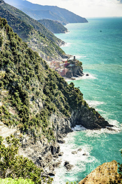 Photograph - Between The Villages Of Cinque Terre, Italy by Global Light Photography - Nicole Leffer