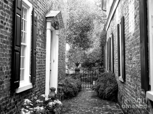 Photograph - Between Two Houses Charleston by John Rizzuto