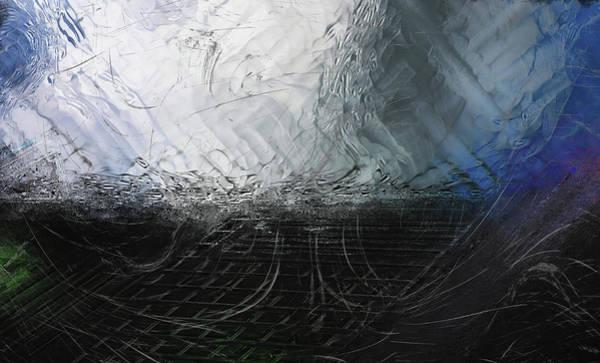 Digital Art - Between Us, This Melancholy Sea by Wendy J St Christopher