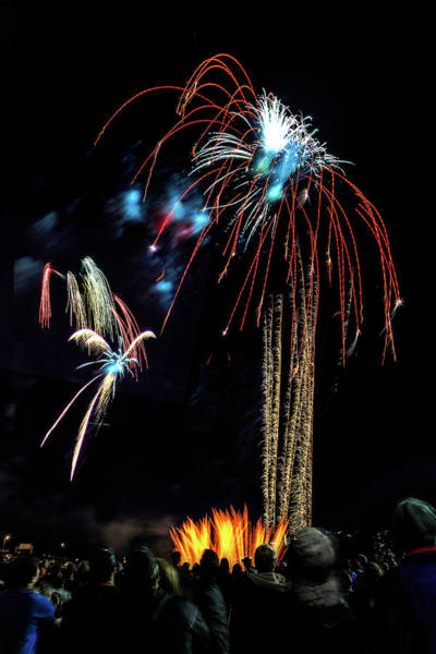 Photograph - Beware The Alien Fireworks by Wes and Dotty Weber