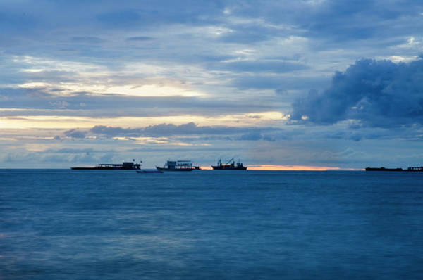 Vung Tau Photograph -  Beyond Breakers by Damian M Photographer