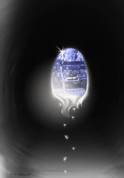 Digital Art - Beyond by Cathy Beharriell