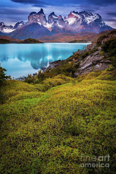 Andes Photograph - Beyond The Blue Depths by Inge Johnsson
