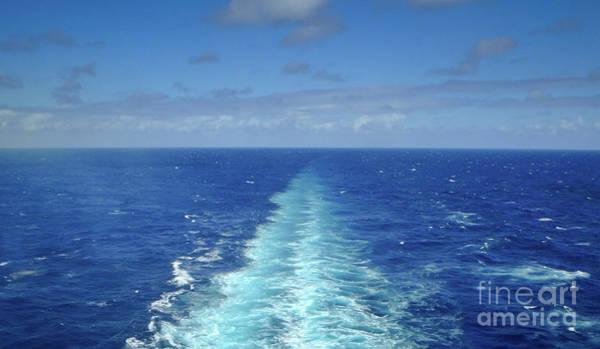 Photograph - Beyond The Blue Horizon by Judy Hall-Folde