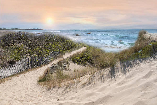 Photograph - Beyond The Dunes by Robin-Lee Vieira
