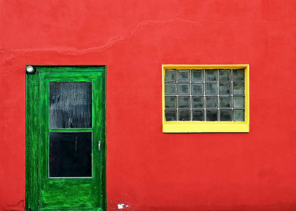 Photograph - Beyond The Green Door by Todd Klassy