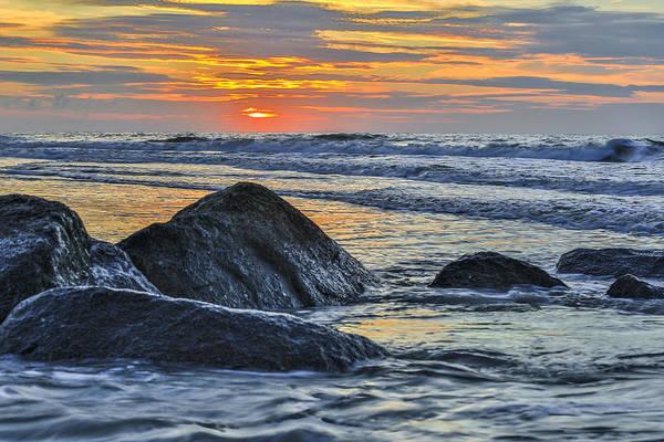 Photograph - Beyond The Rocks - Charleston Coast Sc by Donnie Whitaker