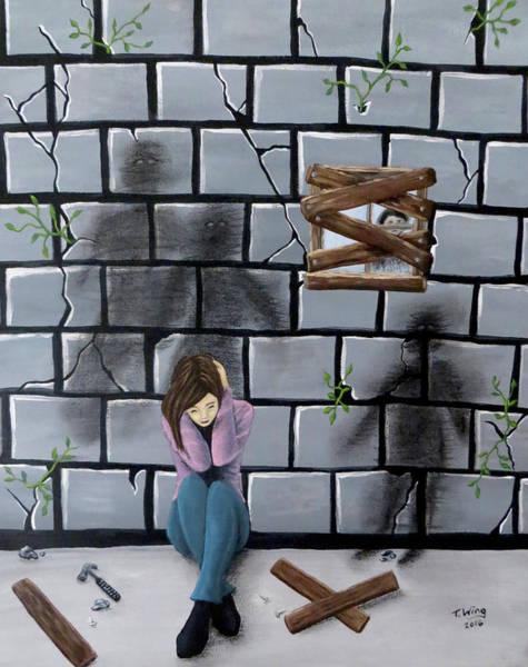 Beyond The Wall Art Print