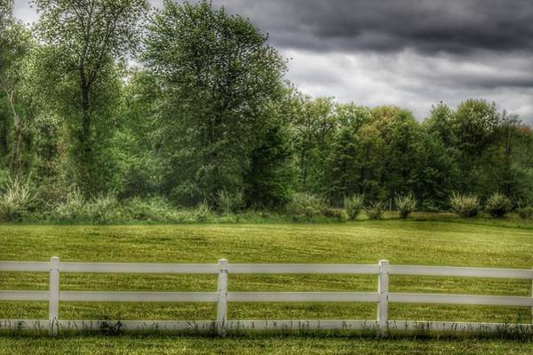 Photograph - 6001 - Beyond The White Fence by Sheryl Sutter