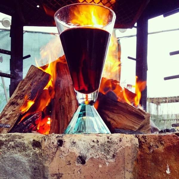 Photograph - #beyondtheglass 😆 #wineoclock by Jaynie Lea