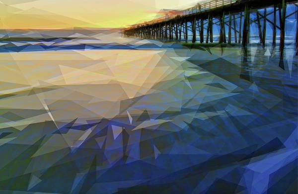 Photograph - Bezeled Waves by Alice Gipson