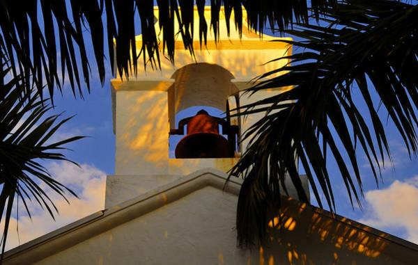 Boca Grande Photograph - Boca Grande Church Bell by David Lee Thompson