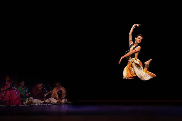 Photograph - Bharatanatyam by Marji Lang