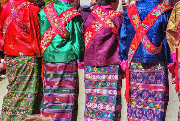 Photograph - ...bhutan Colors.... by Paul Vitko