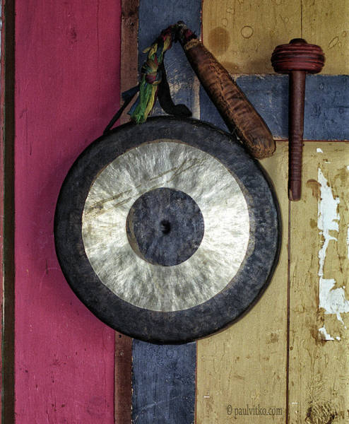 Photograph - Bhutan Gong by Paul Vitko