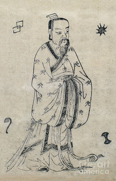 Tcm Wall Art - Photograph - Bian Que, Ancient Chinese Physician by Wellcome Images