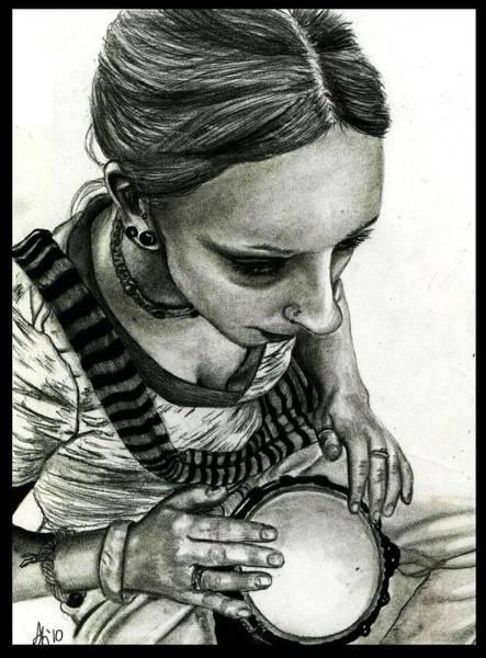 Wall Art - Drawing - Bianca 3 by Alycia Ryan