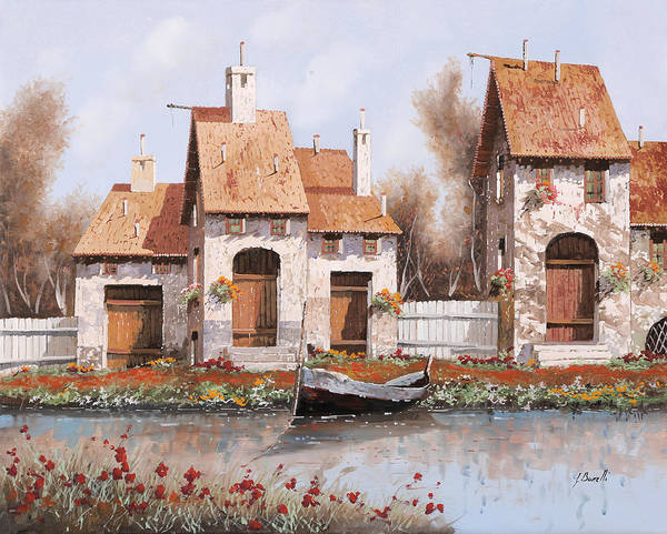 Home Painting - Bianca by Guido Borelli