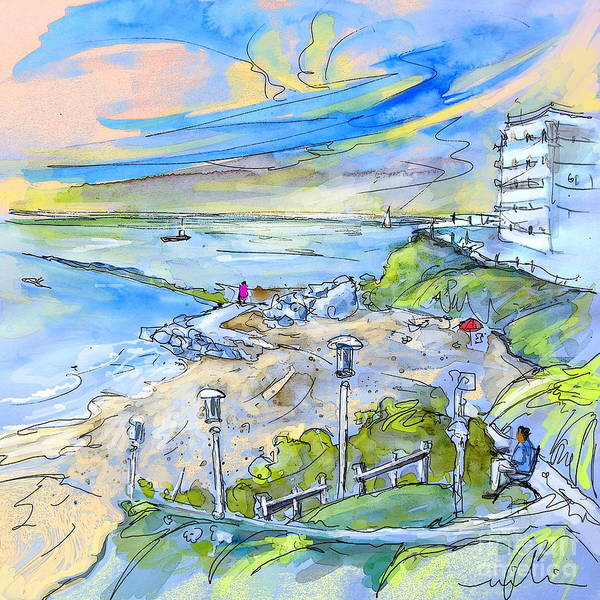 Pyrenees Painting - Biarritz 26 by Miki De Goodaboom