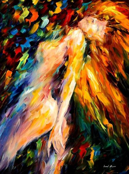 Leonid Wall Art - Painting - Bias by Leonid Afremov