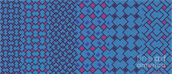 Digital Art - Bibi Khanum Ds Patterns Mug No.2 by Mamoun Sakkal