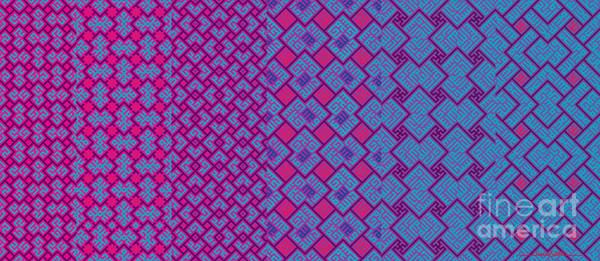 Digital Art - Bibi Khanum Ds Patterns Mug No.4 by Mamoun Sakkal