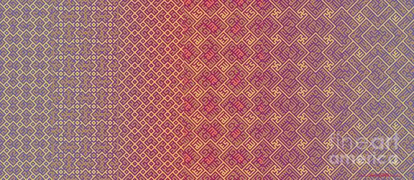 Digital Art - Bibi Khanum Ds Patterns Mug No.5 by Mamoun Sakkal