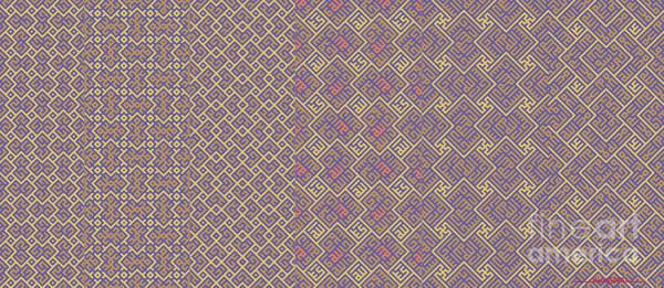Digital Art - Bibi Khanum Ds Patterns Mug No.6 by Mamoun Sakkal