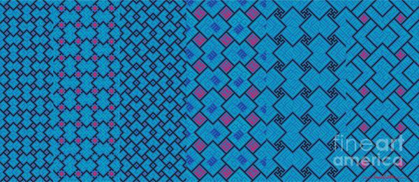 Digital Art - Bibi Khanum Ds Patterns Mug No.7 by Mamoun Sakkal
