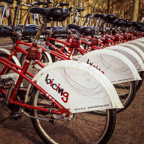 Photograph - Bicing In Barcelona by Joan Carroll