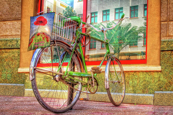 Photograph - Bicycle Art by Debra and Dave Vanderlaan