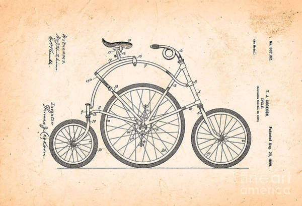 Wall Art - Photograph - Bicycle From 1899 by Delphimages Photo Creations