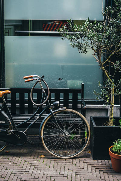 Wall Art - Photograph - Bicycle In The Street by Pati Photography