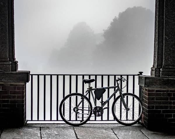 Wall Art - Photograph - Bicycle On Bridge by Kyle Goetsch