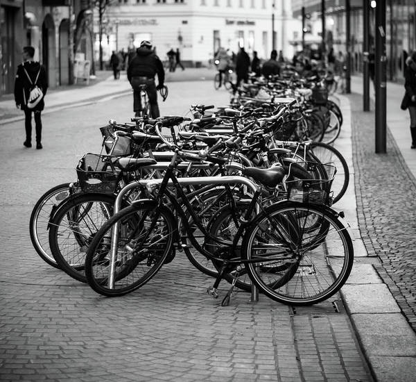 Wall Art - Photograph - Bicycle Parkade by Kyle Goetsch