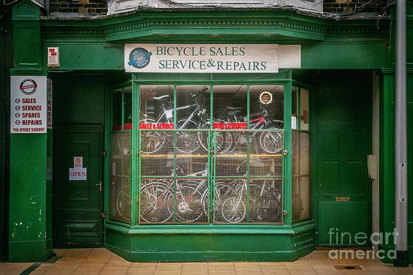 Photograph - Bicycle Sales, Service And Repair by Craig J Satterlee