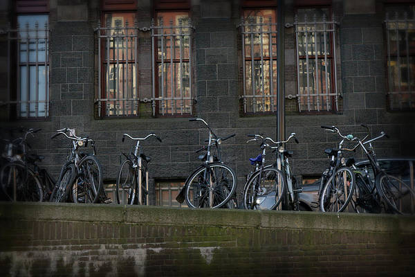 Photograph - Bicycles by Scott Hovind