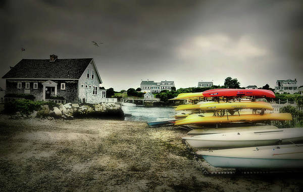 Wall Art - Photograph - Biddeford Kayaks by Diana Angstadt