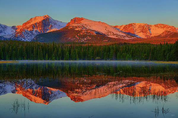 Photograph - Bierstadt Lake Morning Reflections by Greg Norrell
