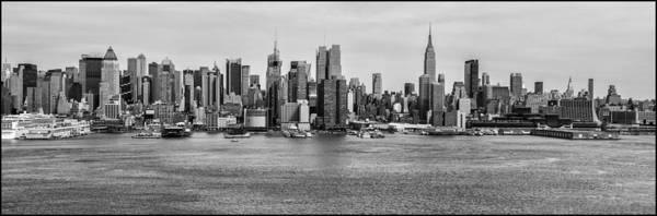 Photograph - Big Apple Skyline by Louis Dallara