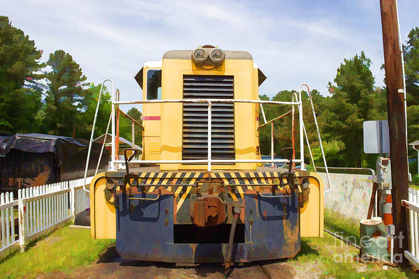 Photograph - Big As Life Train Car by Roberta Byram