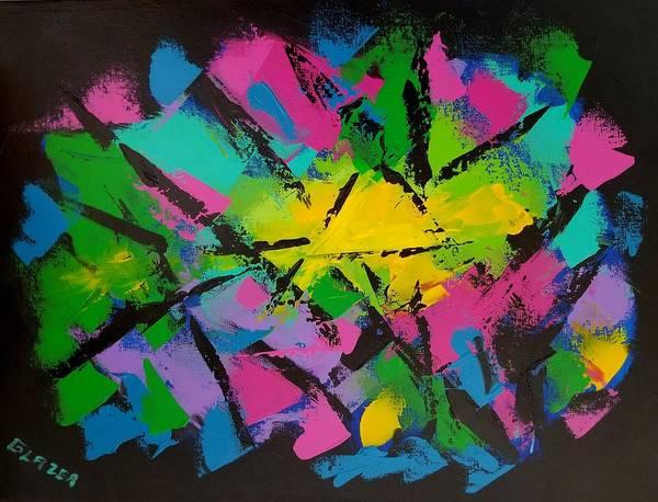 Wall Art - Painting - Big Bang Colors by Stuart Glazer