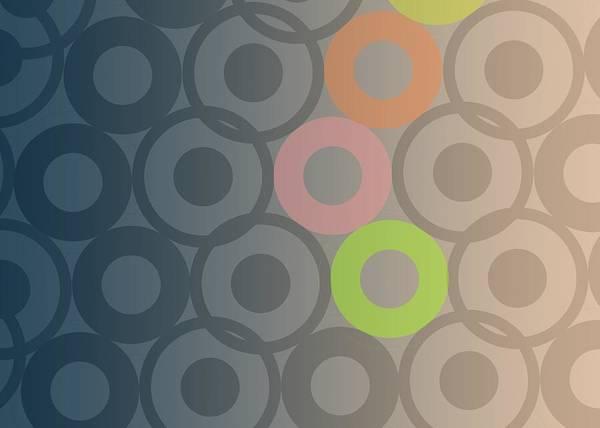 Circular Painting - Big Bang by Francois Domain