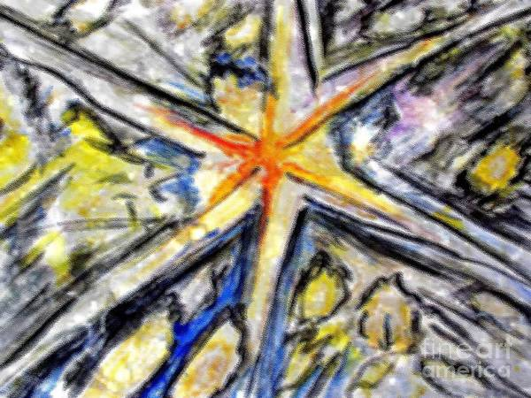 Painting - Big Bang Impression by Stanley Morganstein