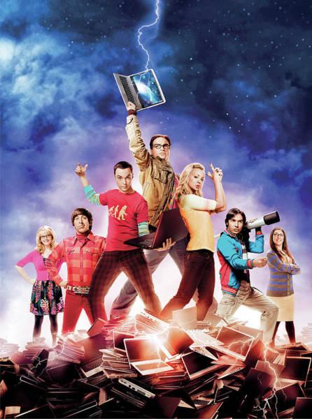 Big Bang Digital Art - Big Bang Theory 2007 by Geek N Rock
